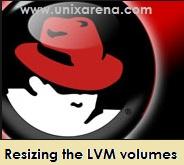 LVM volume resize