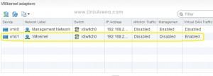 new VMkernel Adapter