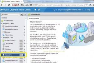 Login to vSphere web-client
