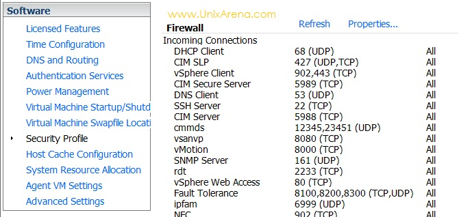 Open firewall for VNC Server