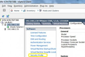 Enabling the VNC server for Virtual hardware Console