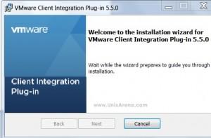 VMware-ClientIntegrationPlugin-5.5.0 installation