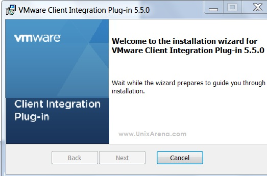 VMware-ClientIntegrationPlugin-5.5.0 installation