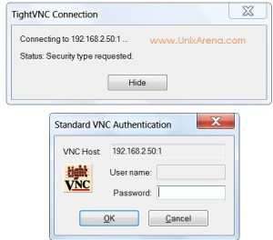 VNC password -VMWARE ESXi