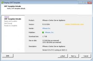 Vcenter Appliance Information Size on Disk