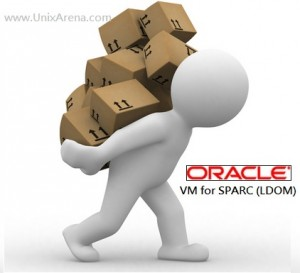orcle VM for SPARC LDOM config backup restore