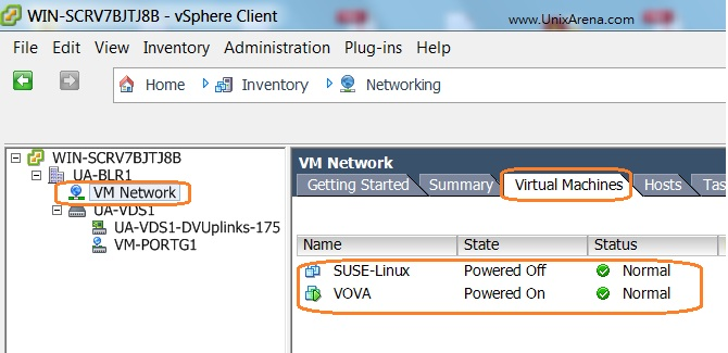 VMware - How to Migrate VM's from DVswitch to vSwitch ? - UnixArena