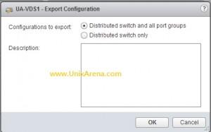 Export VDS configuration - VDS or VDS + Port ?