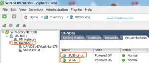 Two VM's are Using VDS