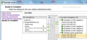 Summary of Adding uplinks
