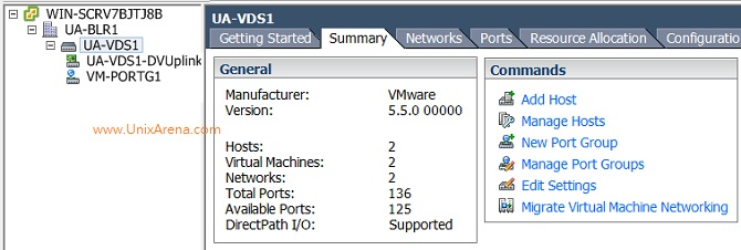 VMware - How to Add/Remove VMnic(uplinks) on DVswitch
