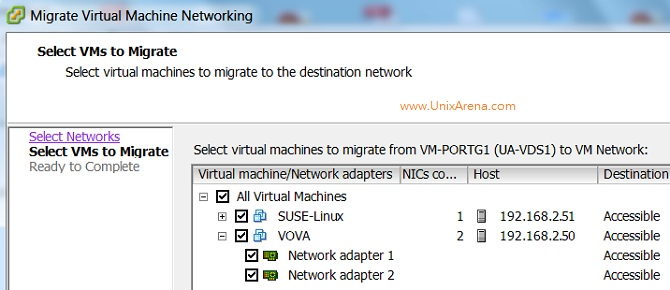 Select the Virtual Machines
