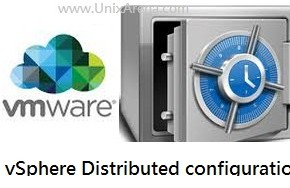 vSphere distributed switch configuration backup