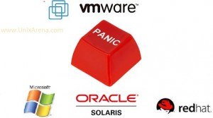 panic guest OS vmware