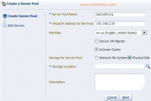 Activating the OVM cluster