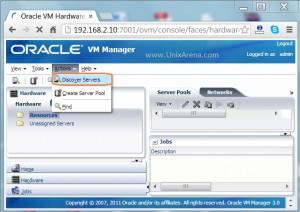 Discover the OVS servers  using IP range