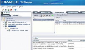 Storage initiator has been added to OVS server