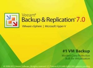 Veeam Backup is opening
