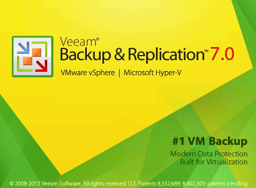 Veeam Backup is opening