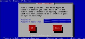 Enter OVS root password