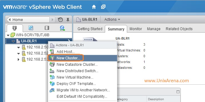 Create a New Cluster