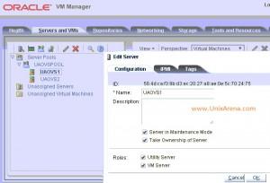 Select - Server in Maintancne mode