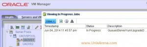 Job in progress