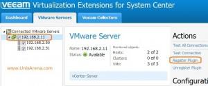 Register plugin in VMware vCenter - veeam MP