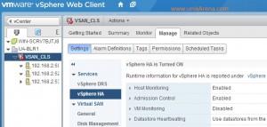 Turn ON VMware HA