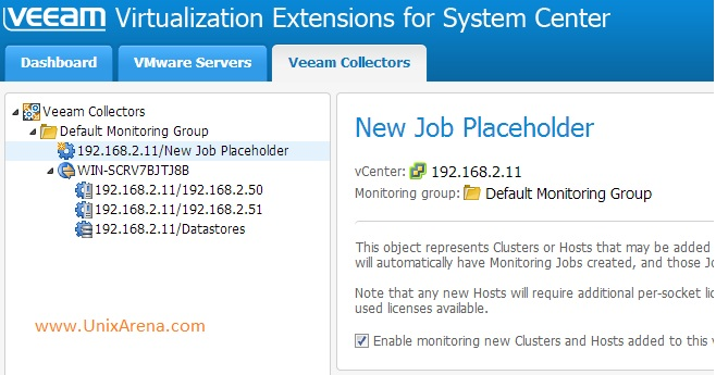 Veeam MP collectors
