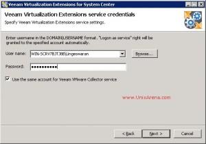 MP for VMware Credentials