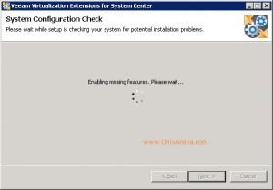 Veeam MP for VMware installation 7