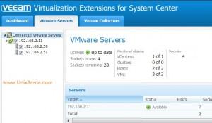Vmware ESXi hosts on veeam MP
