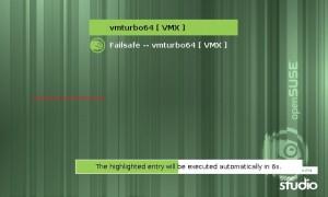 Booting VMturbo