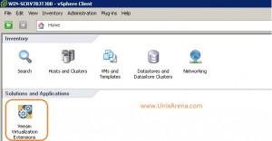 vSphere Client - plugin Veeam MP
