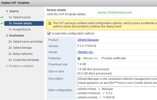 How to Deploy and configure VMware vShield Manager ? - UnixArena