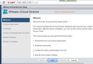 vCloud Post config