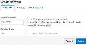 Enter the network name
