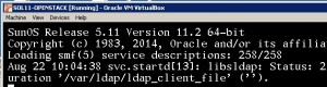 OS booted with ldap warning