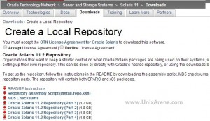 Oracle Repo files