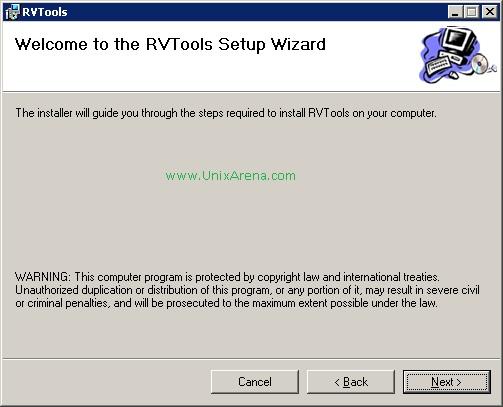 RVTools - Best VMware vSphere information Gathering tool - UnixArena