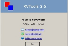 RVtools Author