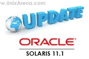 Solaris 11 upgrade