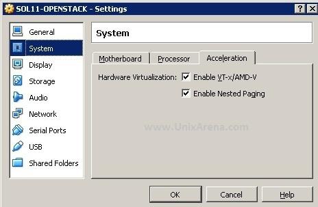 Enable Hardware Virtualization
