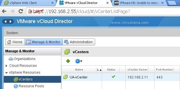 Login to vCloud Director