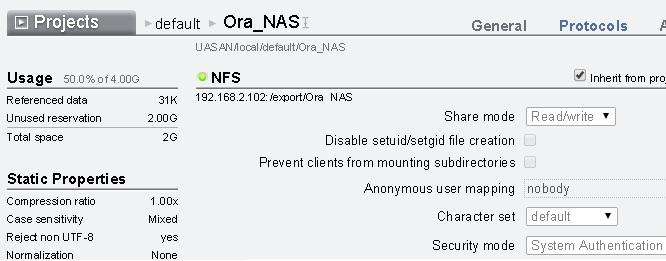 NFS options