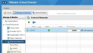Removing the vcloud resource