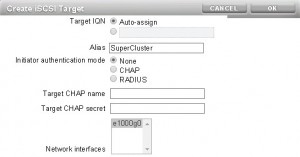 Target IQN  - Auto Assign