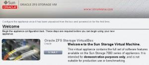 ZFS storage Appliance - Wizard