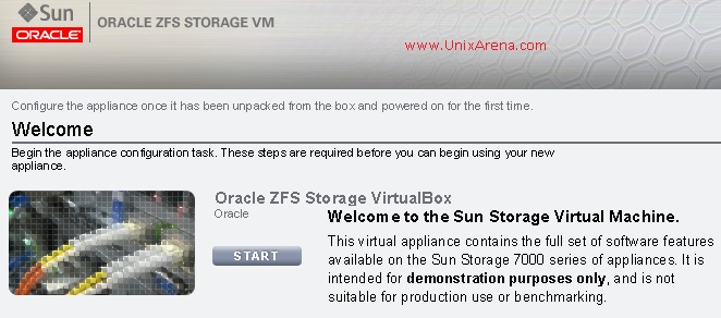 ZFS storage Appliance - Wizard